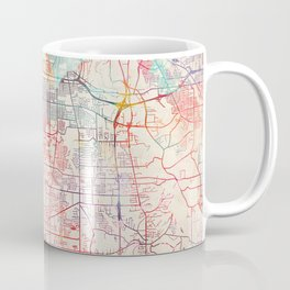 Parma map Ohio painting Coffee Mug