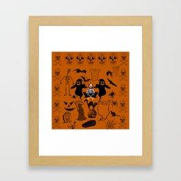 Scream Queen (Chucky Edition) Framed Art Print