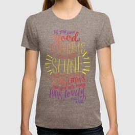 You Will Always Look Lovely [Roald Dahl] T-shirt