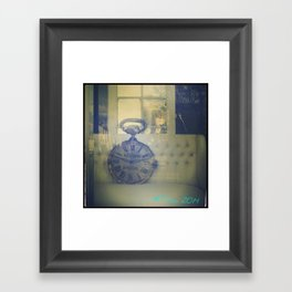 #Time Framed Art Print