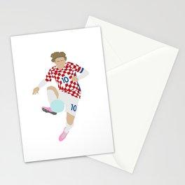 Luka Modric Croatia Print Stationery Cards