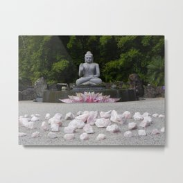 A Vision Of Inner Peace Metal Print