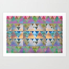 Triangular Art Print