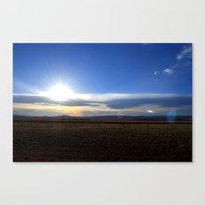 Wyoming Sunset 1 Canvas Print
