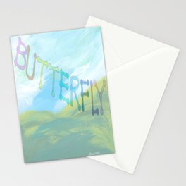 """"""" Butterfly In The Clearing """" Stationery Cards"""