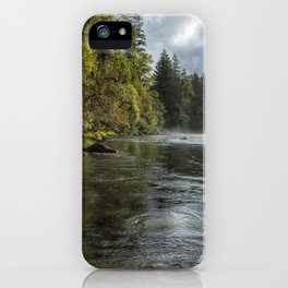 Vying for the Day iPhone Case