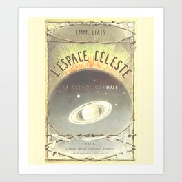 L'Espace Celeste Art Print