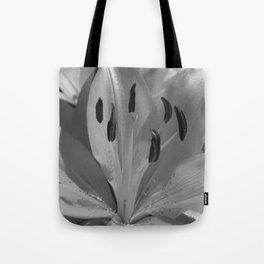 Asiatic Lily (mono) Tote Bag