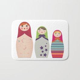 Russians Dolls whoops !  Bath Mat