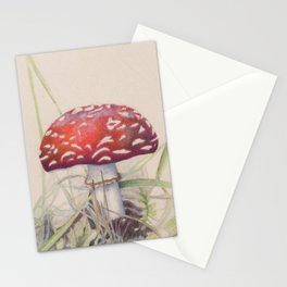 Amanita muscaria Stationery Cards