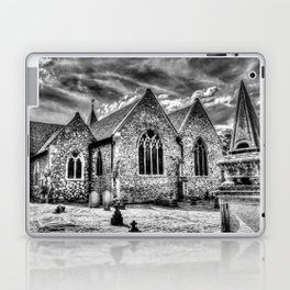 Orsett Church Essex England infrared Laptop & iPad Skin
