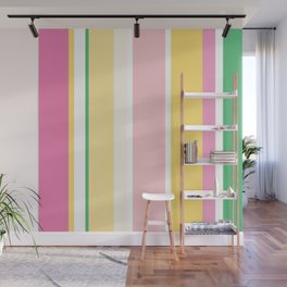 Manly Stripe Wall Mural