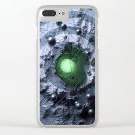 Derivative Clear iPhone Case