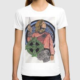 Cu Chulainn Celtic Design T-shirt