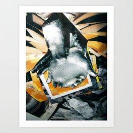 Petroleum based | Collage Art Print