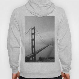 The Golden Gate Bridge In A Mist Hoody