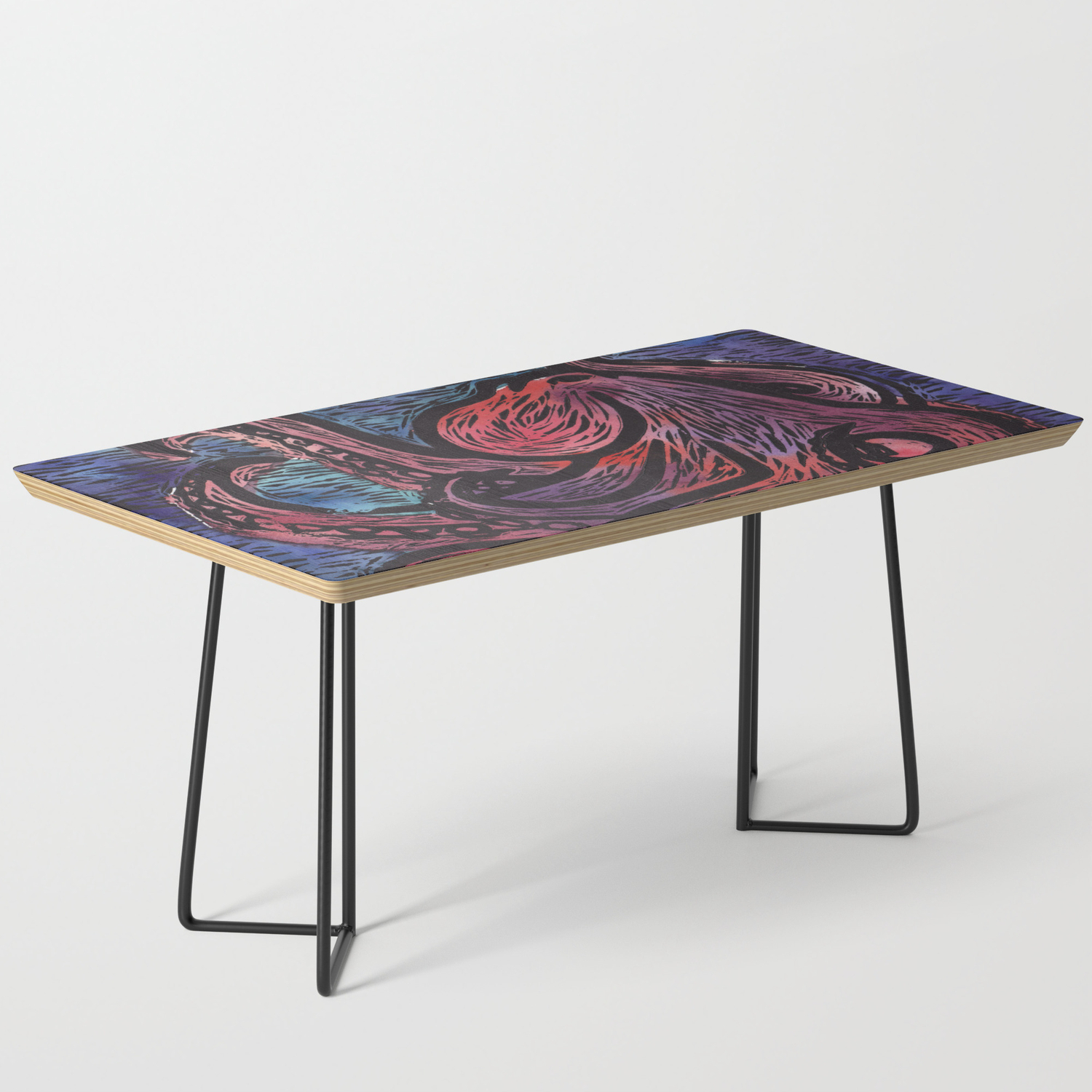 Pacific Octopus Coffee Table By Britaa Society6
