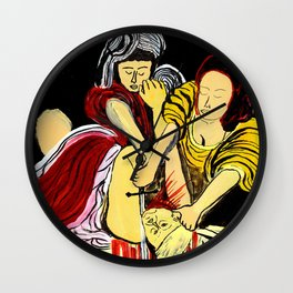 Judith Beheads Holofernes Wall Clock