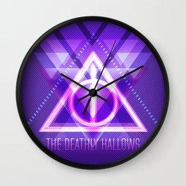Neon Hallows Wall Clock