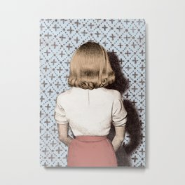 Cold Shoulder Metal Print