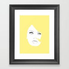 Loren Framed Art Print