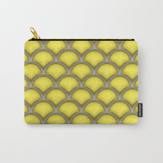 Large scallops in buttercup yellow Carry-All Pouch