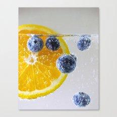 Bubbly Fruit Canvas Print