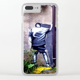 In the corner Clear iPhone Case