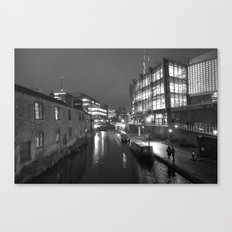Broad St Reflections Canvas Print