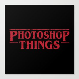 Photoshop Things Canvas Print