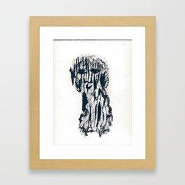 Panou (the dog) Framed Art Print