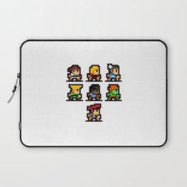Minimalistic - Street Fighter - Pixel Art Laptop Sleeve