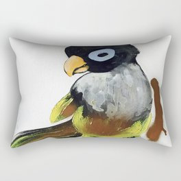 When You Are Royally Created, Baby Parrot Rectangular Pillow
