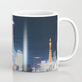 night time on the Las Vegas strip ... Coffee Mug