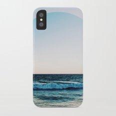 Vibrant Sea Horizon iPhone X Slim Case