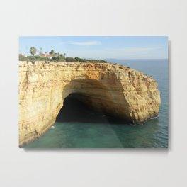 cave near the beach  2 Metal Print