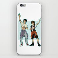 kendrawcandraw iPhone & iPod Skins featuring Be Excellent To Each Other by kendrawcandraw