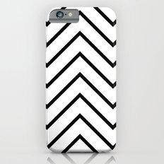 Black and White Chevron Slim Case iPhone 6