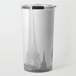 Veiled Eiffel Tower Travel Mug