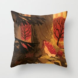 Blindsprings Page Five Throw Pillow