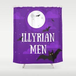 Illyrian Men - Rhys, Cassian, Azriel Shower Curtain