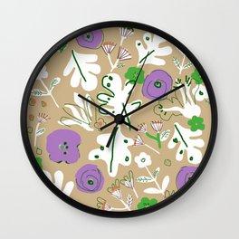 In My Garden Wall Clock