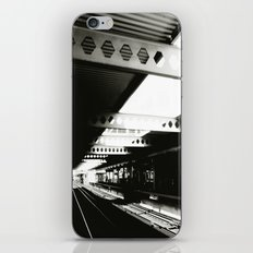 blue line iPhone & iPod Skin