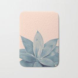 Blush Agave #3 #tropical #decor #art #society6 Bath Mat