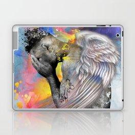 angel male nude Laptop & iPad Skin