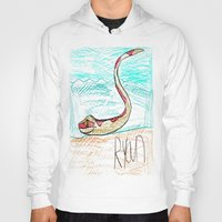 monty python Hoodies featuring The Python by Ryan van Gogh