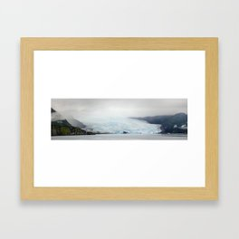 Lost Glacier Framed Art Print