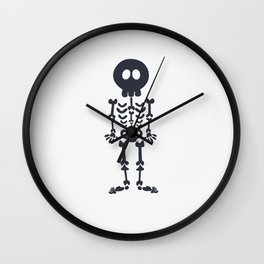 Pattern #8: Skeletons + Buttons Wall Clock