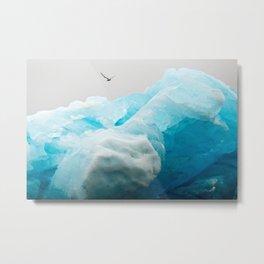 Iceburg Metal Print