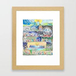 Journey of Triumph Framed Art Print